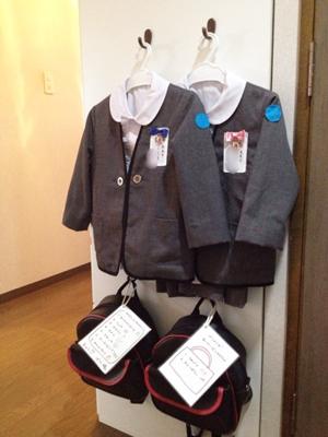 幼稚園の準備