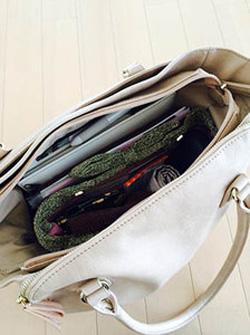 バッグの整理