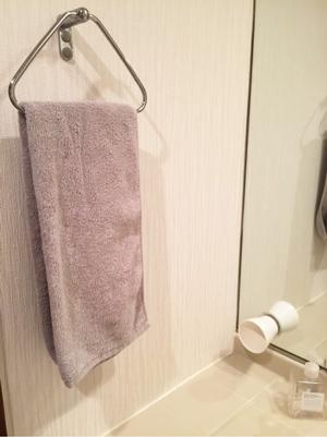 ユニクロのタオル