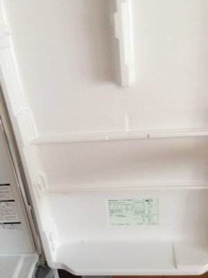 冷蔵庫のドア