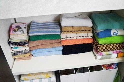 美しいタオル畳み
