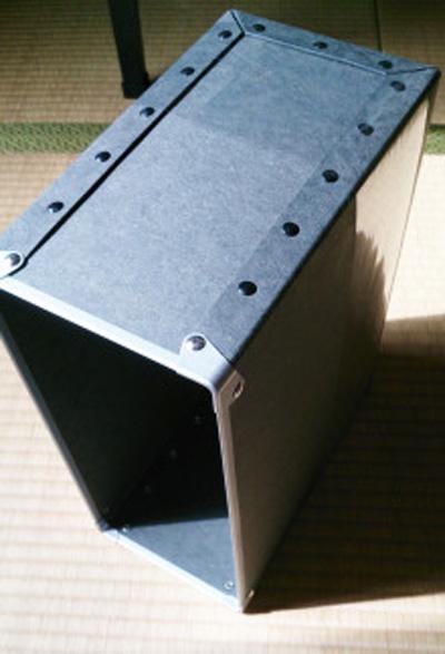 無印良品の硬質ファイルボックス