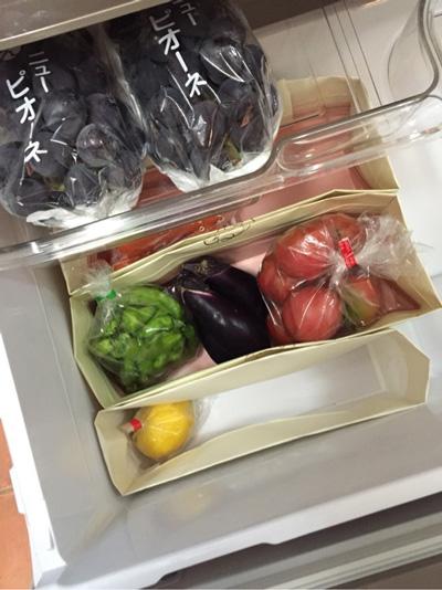 野菜の保管