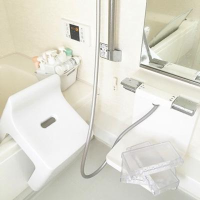風呂アイテムの水切り