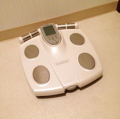 体重計の収納