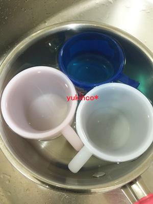 コップをクエン酸で洗う