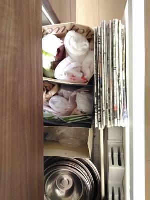 レジ袋の収納