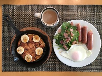 朝食の時短
