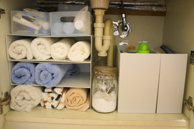 洗面台の下収納