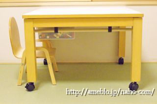 可動式レゴテーブルを自作