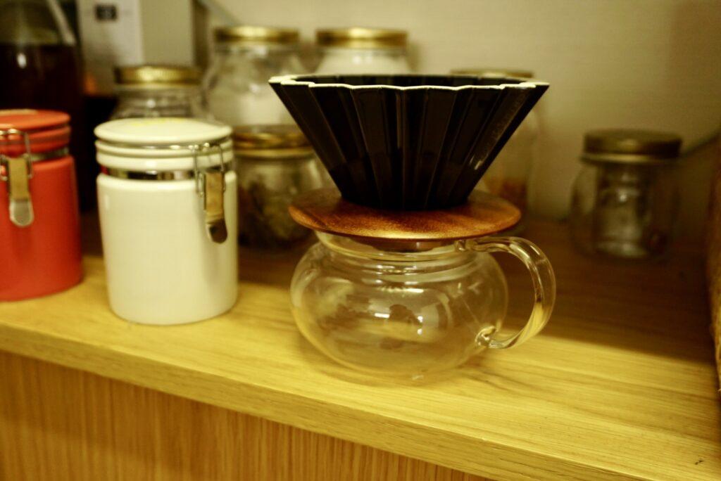 至福の1杯を味わう/「ORIGAMI コーヒードリッパー」
